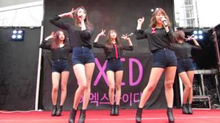 getlinkyoutube.com-I Feel Good - EXID Live @ Myeong-dong Guerilla Concert (명동 게릴라콘서트)