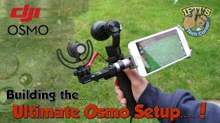 getlinkyoutube.com-DJI Osmo - Creating the Ultimate HandHeld Stabilised Rig with the Rode VideoMicro!