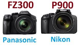 getlinkyoutube.com-Panasonic LUMIX DMC-FZ300 vs Nikon Coolpix P900