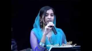 Muthu Nabiyude Omanaputhri   shelja shaji   Mappila Pattukal, Oman Nilavu
