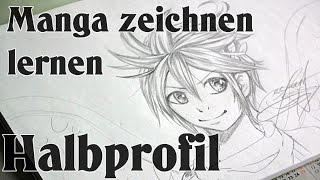 getlinkyoutube.com-Manga zeichnen lernen [Basic] - Halbprofil