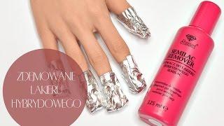 getlinkyoutube.com-♦Zdejmowanie lakieru hybrydowego || Przygotowanie paznokci do manicure♦