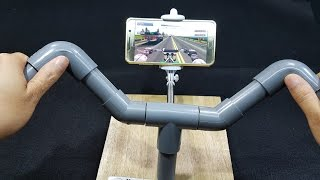 How to make Gaming Steering Motorcycle For Smartphone