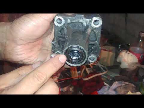 Ремонт насоса гидроусилителя руля ГУР БМВ Е34 М50