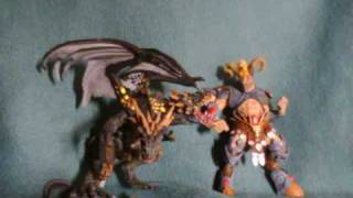 mcfarlane figure reviews = beserker dragon & zodiac aries