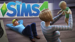 getlinkyoutube.com-HERE COMES THE BABY!! | The Sims 4 Gameplay #7
