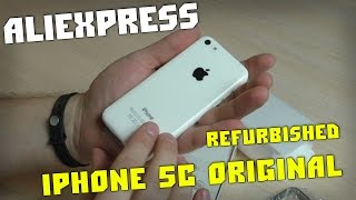 getlinkyoutube.com-Телефон Из Китая iPhone 5С Original REFURBISHED И Видео КОНКУРС!