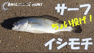 getlinkyoutube.com-誰でも簡単に釣れる!サーフでちょい投げ!イシモチ釣り!