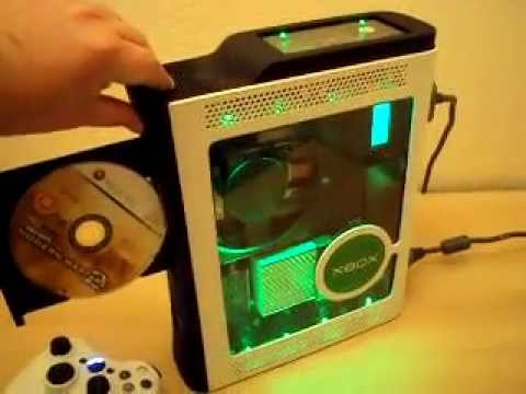Custom MOD XBOX 360 / Black and White Custom 60 GB