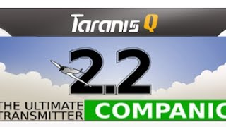 Taranis Q X7 OpenTX Tutorial Quick Start - Downloading Installing Companion OpenTX Audio Sound