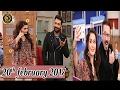 Salam Zindagi   Latest Show With Nasir Khan Jan & Waseem Hassan Sheikh   20th February 2017