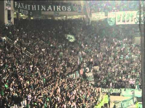 Onsports.gr - Οι οπαδοι του Παναθηναϊκού στο ντέρμπι