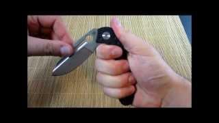 getlinkyoutube.com-Spyderco Tuff Knife Review
