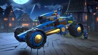 getlinkyoutube.com-Jay Walker One - Lego Ninjago - Product Animation 70731