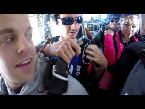 Grant Doyle's Tandem skydive!