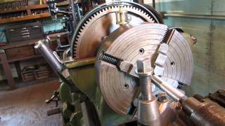 getlinkyoutube.com-OLD TIME STEAM POWERED MACHINE SHOP 5  Frick Valve Rod