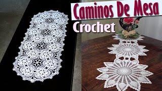 getlinkyoutube.com-Caminos Para Mesa - Tejidos a Crochet ( Diseños e IDEAS )