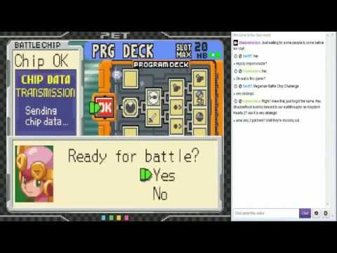 Mega Man Battle Chip Challenge - Part 1: Mayl and Roll, the