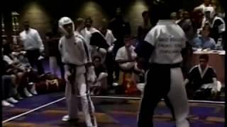 getlinkyoutube.com-1996 Battle of Atlanta Karate Tournament Daytime Fighting Eliminations