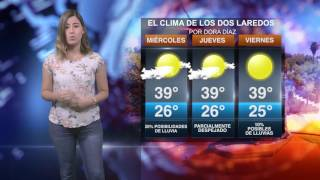 CLIMA MIÉRCOLES 19 DE JULIO EN NUEVO LAREDO