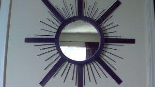 getlinkyoutube.com-DIY l Sunburst Mirror