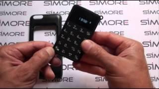 getlinkyoutube.com-iPhone 6 Dual SIM case adapter - Talkase black Dual SIM for iPhone 6