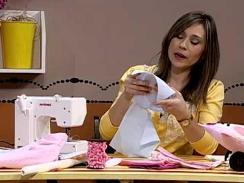 Como hacer almohadones infantiles