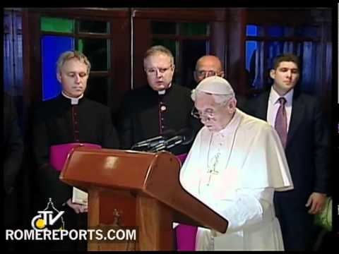 Benedict XVI's farewell speech at Havana airport
