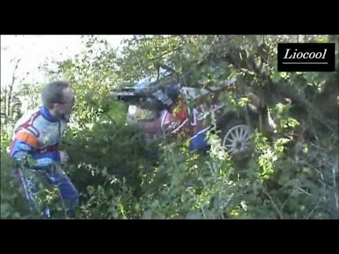 WRC ADAC Rallye Deutschland 2011 (Crash Latvala and Al-Rajhi)