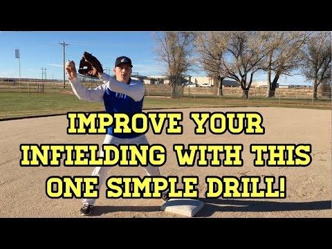 Baseball Fielding Drills - Point Positioning Drill