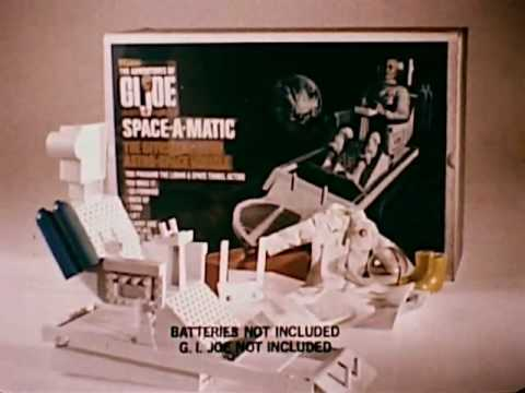 G.I. Joe Astronaut - Space-A-Matic Commercial 1970
