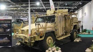 getlinkyoutube.com-Land Zone area DSEI 2013 International Defense and Security Event Exhibition London United Kingdom