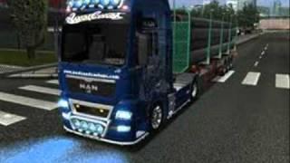 Życie kierowcy ciężarówki