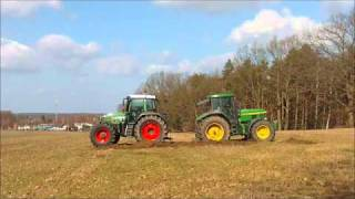 getlinkyoutube.com-Fendt 820 vs. John Deere 7810
