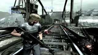 getlinkyoutube.com-Resident Evil 6 Mercenarios (Sin piedad) - Steel Beast (Leon Mod RE4 model V2 - Ranking S) [PC]