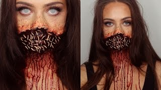 getlinkyoutube.com-ROTTEN ZOMBIE MOUTH Halloween/SFX Tutorial
