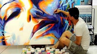 getlinkyoutube.com-Pintura contemporânea  -  millani