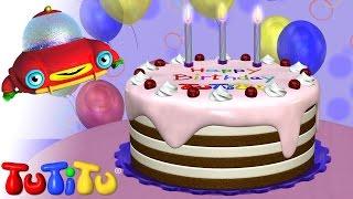 getlinkyoutube.com-TuTiTu Toys | Happy Birthday Cake