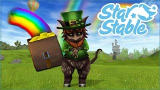Chasing Rainbow Gold & A RAINBOW AS A PET?! • Star Stable - Rainbows and Leprechauns Event!!