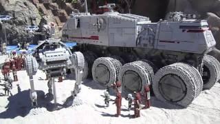 getlinkyoutube.com-Legoland California - Star Wars miniland grand opening