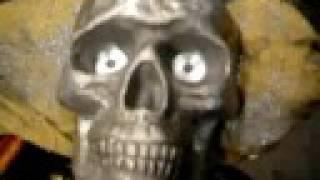 getlinkyoutube.com-aluminium skull biker headlight