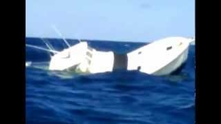 getlinkyoutube.com-Black Marlin Sinks Fishing Boat in Panama.