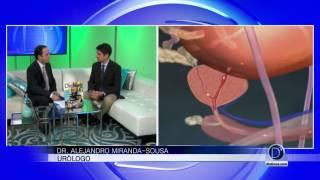 Causas, diagnóstico y tratamiento de disfunción eréctil, el Dr Alejandro Miranda Sousa explica