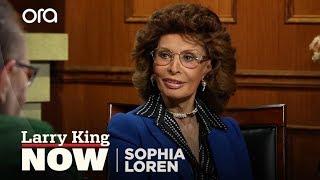 "Sophia Loren on ""Larry King Now"" - Full Episode in the U.S. on Ora.TV"