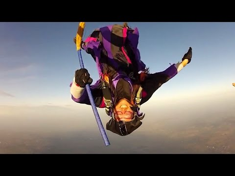 Skydiving Witch - Witches CAN Fly!