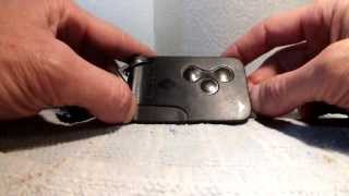 getlinkyoutube.com-Renault key card easy fix ignition key save £300