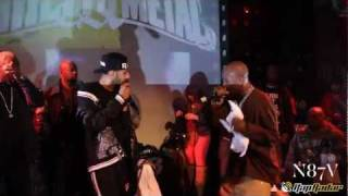 DMX invite Swizz Beats sur scène