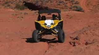 getlinkyoutube.com-Yamaha YXZ-rock crawling.