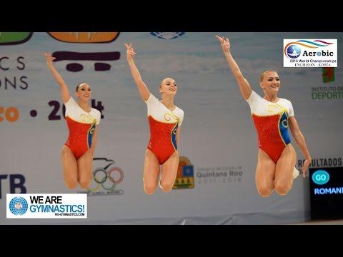 FULL REPLAY - 2016 Aerobic Gymnastics Worlds - Finals Day 1