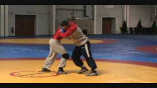 Final Junior World Greco-Roman Team practice prior to competition